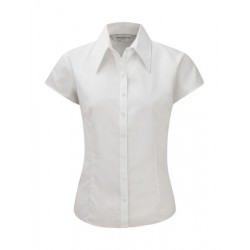 Camisa ajustada Tencel RUSSELL COLLECTION 955F Mujer Corta