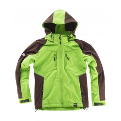 Chaqueta Workshell combinada reflectante WORKTEAM WF1040