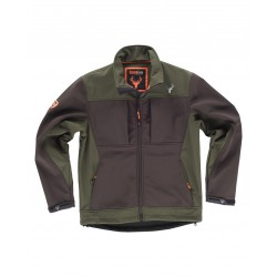 Chaqueta Workshell combinada WORKTEAM S8620