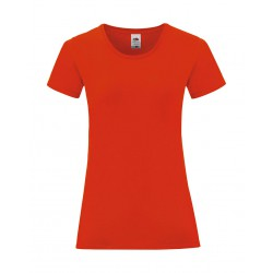 Camiseta iconic mujer FRUIT OF THE LOOM 61-432-0