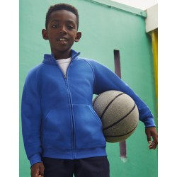 Sudadera chaqueta niños FRUIT OF THE LOOM CLASSIC 62-005-0