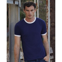 Camiseta valueweight ringer T para hombre FRUIT OF THE LOOM 61-168-0