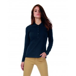 Polo Safrán Pure LSL/Women B&C PW456