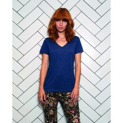 Camiseta V Triblend/Women B&C 012.42