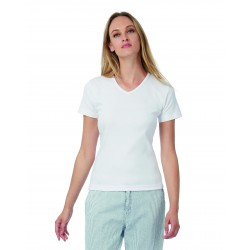 Camiseta Mujer Watch/Women V-Neck B&C TW102